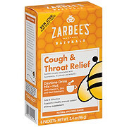 Zarbee's Naturals Adult Cough & Throat Relief Drink Mix Apple Spice