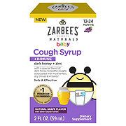 Zarbee's Naturals Baby Cough Syrup, Grape