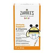 Zarbee's Naturals Baby Immune Support Plus Vitamins, Orange