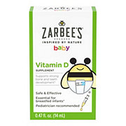 Zarbee's Naturals Baby Vitamin D Supplement