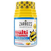 Zarbee's Naturals Children's Complete Multivitamin + Probiotic Gummies