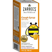 Zarbee's Naturals Children's Cough Syrup 12 Months +, Grape