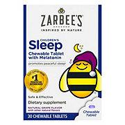 Zarbee's Naturals Children's Sleep With Melatonin Chewable Tablets