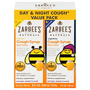 Zarbee's Naturals Childrens Day/night Cough Syrup Twin Pack