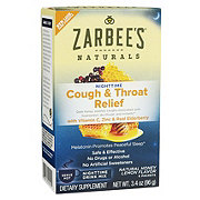 Zarbee's Naturals Cough And Throat Relief Nighttime Drink Mix