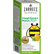 Zarbee's Naturals Cough Syrup + Mucus Natural Cherry Flavor