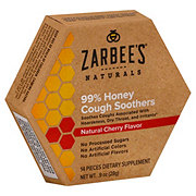 Zarbee's Naturals Honey Cough Soothers Cherry
