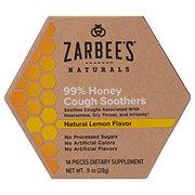 Zarbee's Naturals Honey Cough Soothers Lemon