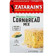 Zatarain's Cheddar Jalapeno Cornbread Mix