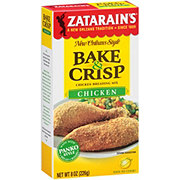 Zatarain's Chicken Bake and Crisp