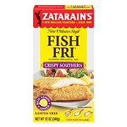 Zatarain's Crispy Southern Style Seasoned Fish-Fri