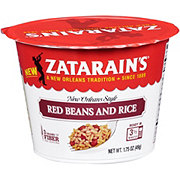 Zatarain's New Orleans Style Red Beans And Rice Cup
