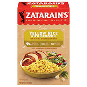 Zatarain's New Orleans Style Yellow Rice with Broccoli