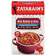Zatarain's Reduced Sodium Red Beans And Rice