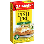 Zatarain's Seasoned Garlic Fish-Fri