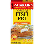 Zatarain's Seasoned Lemon Pepper Fish-Fri