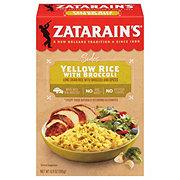 Zatarain's Yellow Rice with Broccoli