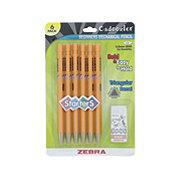 Zebra Cadoozles Starters Triangular Barrel Pencil