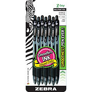 Zebra Pen Z-Grip Retractable Ballpoint 1.0mm Black