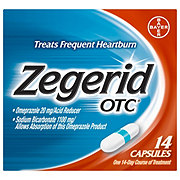 Zegerid OTC Acid Reducer Capsules