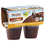 Zen Chocolate Pudding Made with Almond Milk