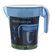 ZeroWater 6-Cup Space Saver Pitcher