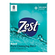 Zest Aqua Family Deodorant Bars 8 ct