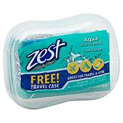 Zest Bar Soap Aqua With Case