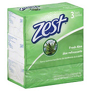 Zest Fresh Aloe Family Deodorant Bars