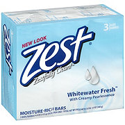 Zest Whitewater Fresh Moisture-Rich Soap Bars