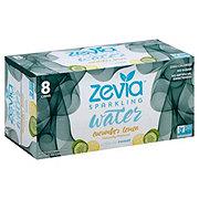 Zevia Cucumber Lemon Sparkling Water 12 oz Cans