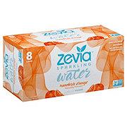 Zevia Mandarin Orange Sparkling Water 12 oz Cans