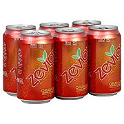 Zevia Orange Soda 6 PK Cans