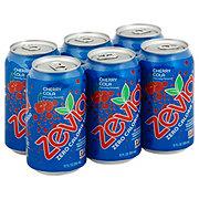 Zevia Zero Calorie Cherry Cola Soda 12 oz Cans