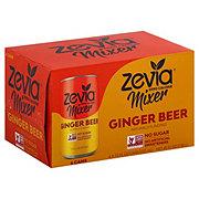 Zevia Zero Calorie Mixer Ginger Beer 7.5 oz Cans