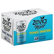 Zevia Zero Calorie Mixer Tonic Water 7.5 oz Cans