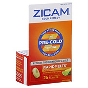 Zicam Cold Remedy Quick Dissolve Tablets, Citrus Flavor