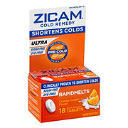 Zicam Cold Remedy Ultra RapidMelts, Orange Cream