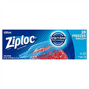 Ziploc Double Zipper Freezer Gallon Bags Value Pack