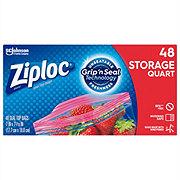 Ziploc Double Zipper Quart Storage Bags Value Pack