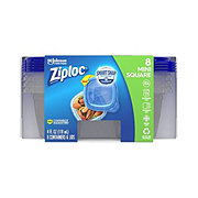 Ziploc Extra Small Square Food Storage Containers