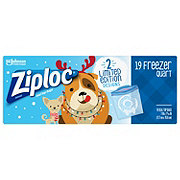 Ziploc Holiday Freezer Quart Bags