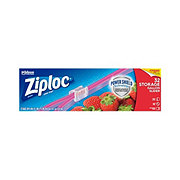 Ziploc Slider Stand & Fill Gallon Storage Bags