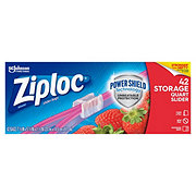 Ziploc Slider Stand & Fill Quart Storage Bags