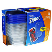 Ziploc Small Rectangle Food Storage Containers