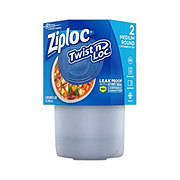 Ziploc Twist 'N Loc Medium Round Containers and Lids