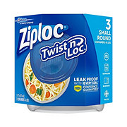 Ziploc Twist 'N Loc Small Round Containers and Lids