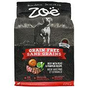 Zoe Grain Free Beef with Peas and Pumpkin