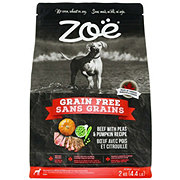 Zoe Grain Free Beef with Peas and Pumpkin Dog Food
