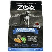 Zoe Grain Free Chicken with Peas and Quinoa Dog Food